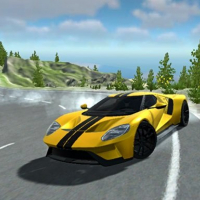 American Supercar Test Driving 3D