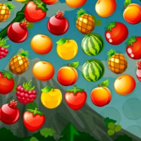 Bubble Shooter Fruits Wheel