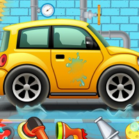 Kids Car Wash Service Auto Workshop Garage