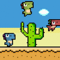 Pixel Dino Run