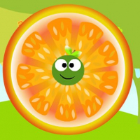 Ricocheting Orange