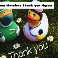 Corona Warriors Thank you Jigsaw
