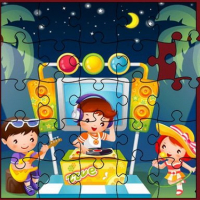 Cute Little Kids Jigsaw