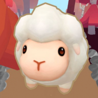 runner sheep