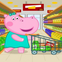 Supermarket: Shopping Games for Kids